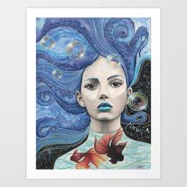 Galaxsea Art Print