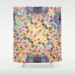 Funny frivolous bohemian design Shower Curtain