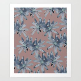 MATUCANA IN COPPER ROSE Art Print