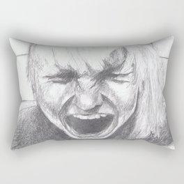 a bad day Rectangular Pillow