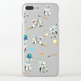Hold the Earth Clear iPhone Case