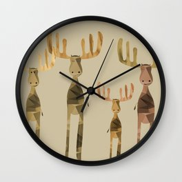 Mooses Wall Clock