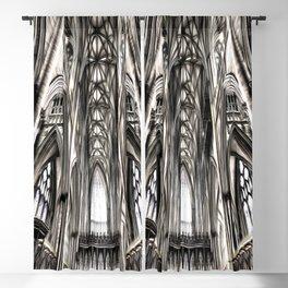 York Minster Art Blackout Curtain