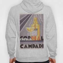 Vintage 1941 Cordial Campari Advertisement by Nicolay Diulgheroff Hoody