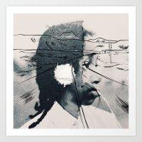 Collage 02 Art Print