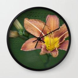 Affectuesement Lily Wall Clock