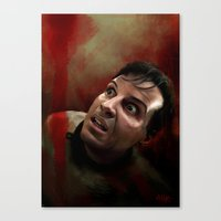 moriarty Canvas Prints featuring Moriarty by addigni