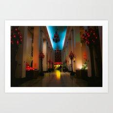 Hallway at St. Joseph's Oratory Art Print