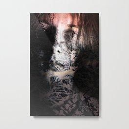 emotion piece. winter, part II. Metal Print