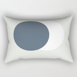 Earth Moon Hug Rectangular Pillow