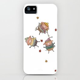 huffed and puffed iPhone Case