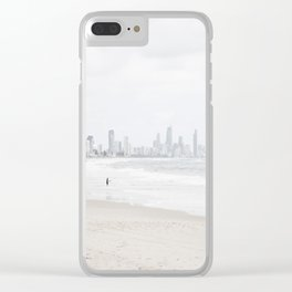 Surfers Paradise IV Clear iPhone Case