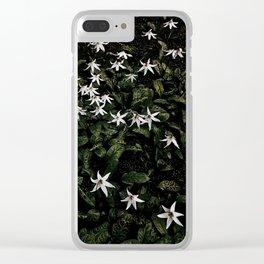 White Fawn Lilies; Open Your Heart Clear iPhone Case
