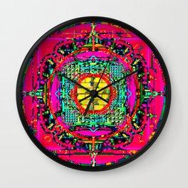 Framed 9 Wall Clock
