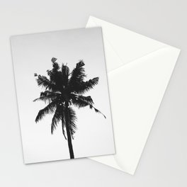Palm, Tree, Nature, Tropical, Modern, Minimal, Interior, Wall art Stationery Cards