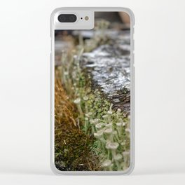 Decay = Regrowth Clear iPhone Case