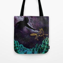 Black God and Coyote Tote Bag