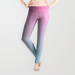 Rose Quartz and Aquamarine Leggings