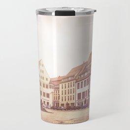 Freiberg, Germany Town Square Travel Mug