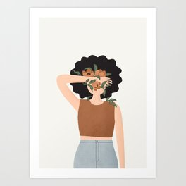 Dara Flowers Art Print