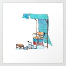 Peddler 01 Art Print