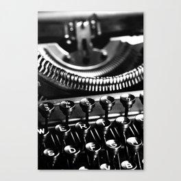 Typewriter No.5 Canvas Print