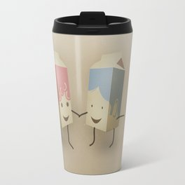 I only have pasteurised for you Travel Mug