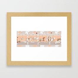 The Unpluged Amusement Park Framed Art Print