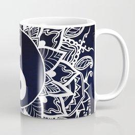 Yin & Yang Decorative Mandala Coffee Mug