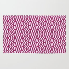 Marsala Diamond Pattern Rug