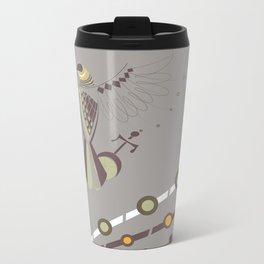 Pharaoh's Symbol Metal Travel Mug