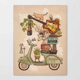 Pleasant Balance II Canvas Print