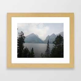 The view that changes lives Framed Art Print