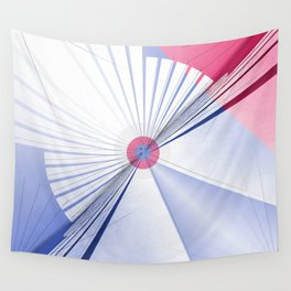 Pattern colors 2016 rose quarz and serenity blue Version 5 Wall Tapestry