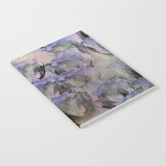 Glamorous Lavender Roses Abstract Notebook