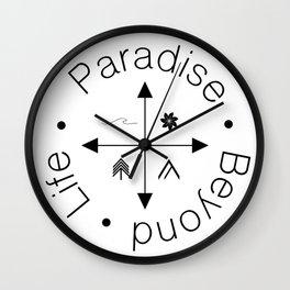 Life Compass Wall Clock