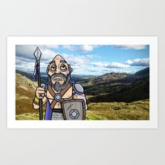 Carlin the Caledonian Art Print