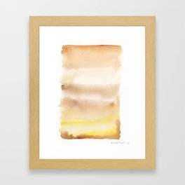 180815 Watercolor Rothko Inspired 2| Colorful Abstract | Modern Watercolor Art Framed Art Print