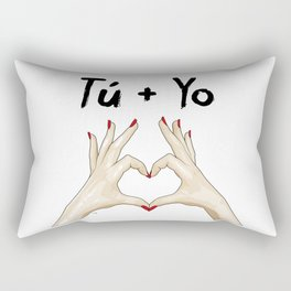 T + Y Rectangular Pillow