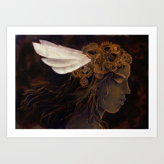 Clockwork Crown Art Print