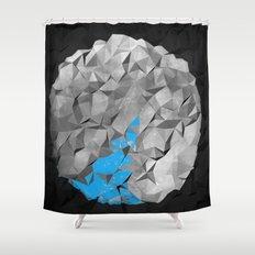 Globe off Shower Curtain