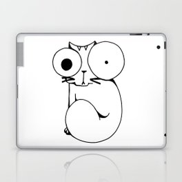 Psycho Cat Laptop & iPad Skin