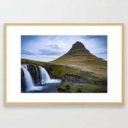 Kirkjufell in Iceland Framed Art Print