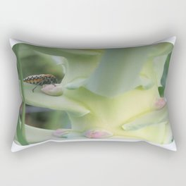 beauty in the mundane - beauty and the beast Rectangular Pillow