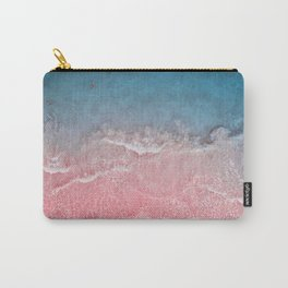 Bahamas pink blue Carry-All Pouch