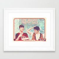ferris bueller Framed Art Prints featuring FERRIS BUELLER (special) by Videoism