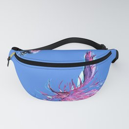 Lisa in shades of Blue Fanny Pack