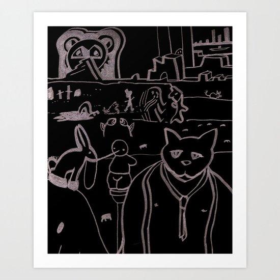 Untitled #10 Art Print