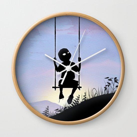 Spider Kid Wall Clock