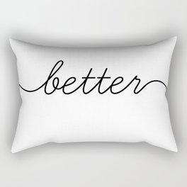 better together (1 of 2) Rectangular Pillow